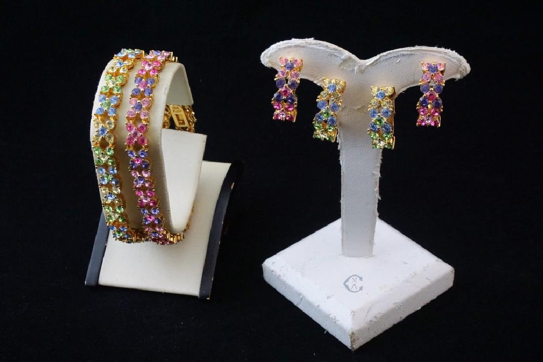 JOAN RIVERS BRACELET AND EARRINGS