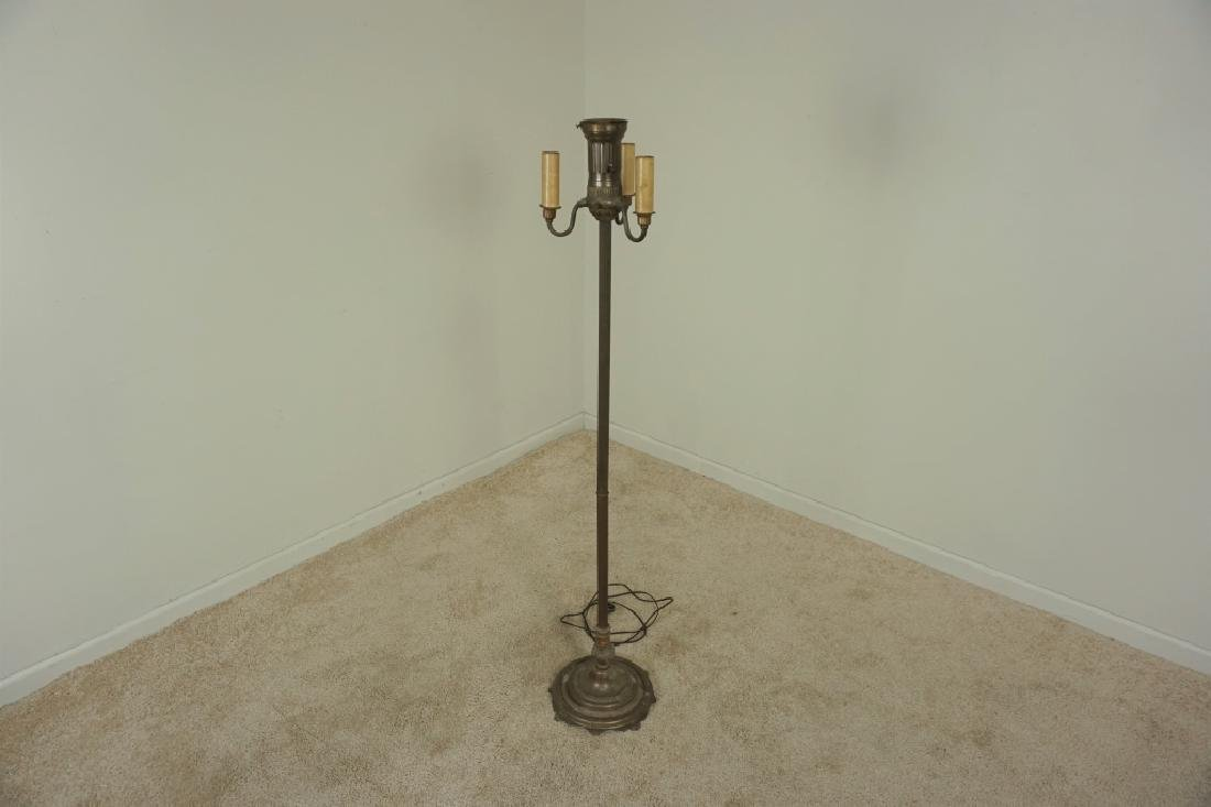 VINTAGE TRILITE FLOOR LAMP WITH SHADE