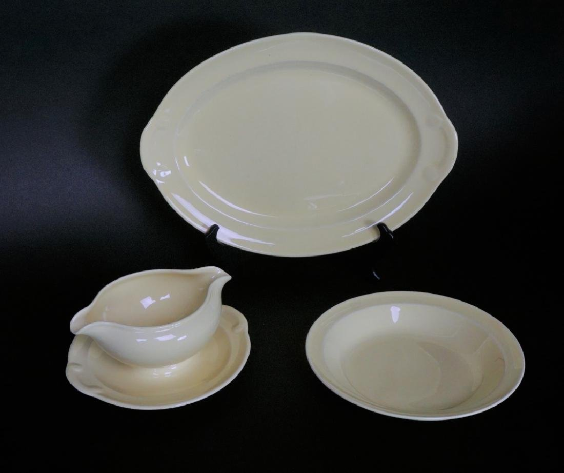 38pc LU-RAY PASTEL DINNER WARE 6pc SERVICE FOR 4 - 7