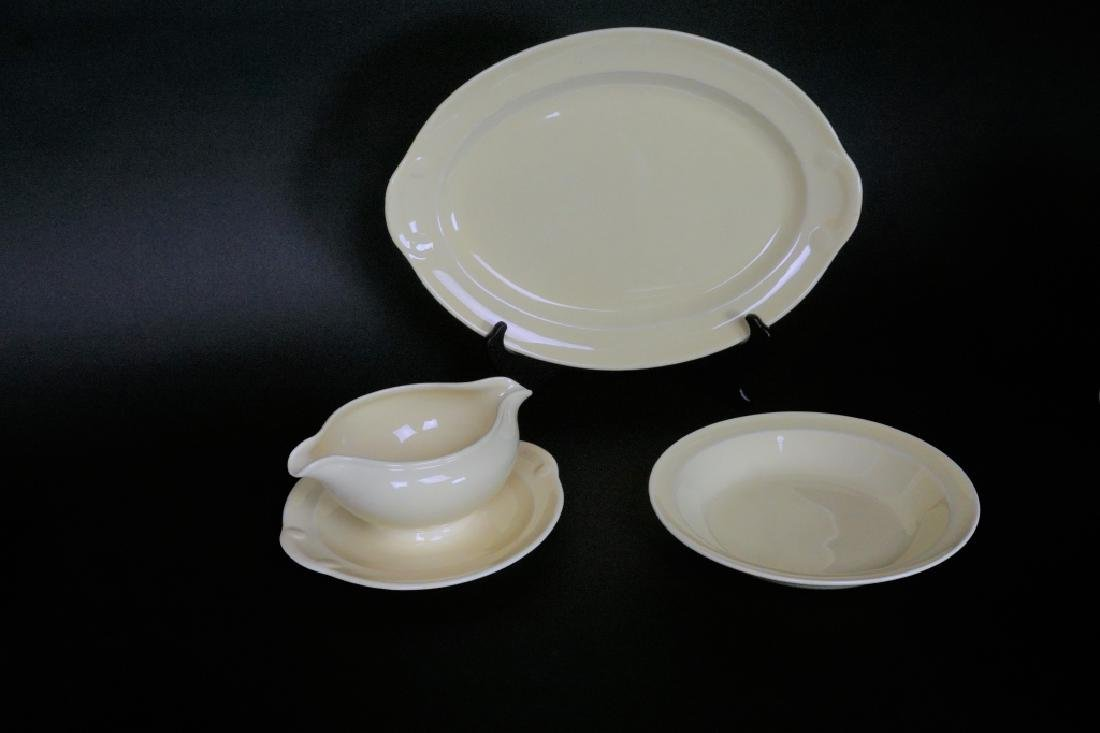 38pc LU-RAY PASTEL DINNER WARE 6pc SERVICE FOR 4 - 8