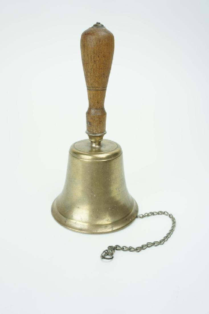 ANTIQUE 1800'S SCHOOL BELL