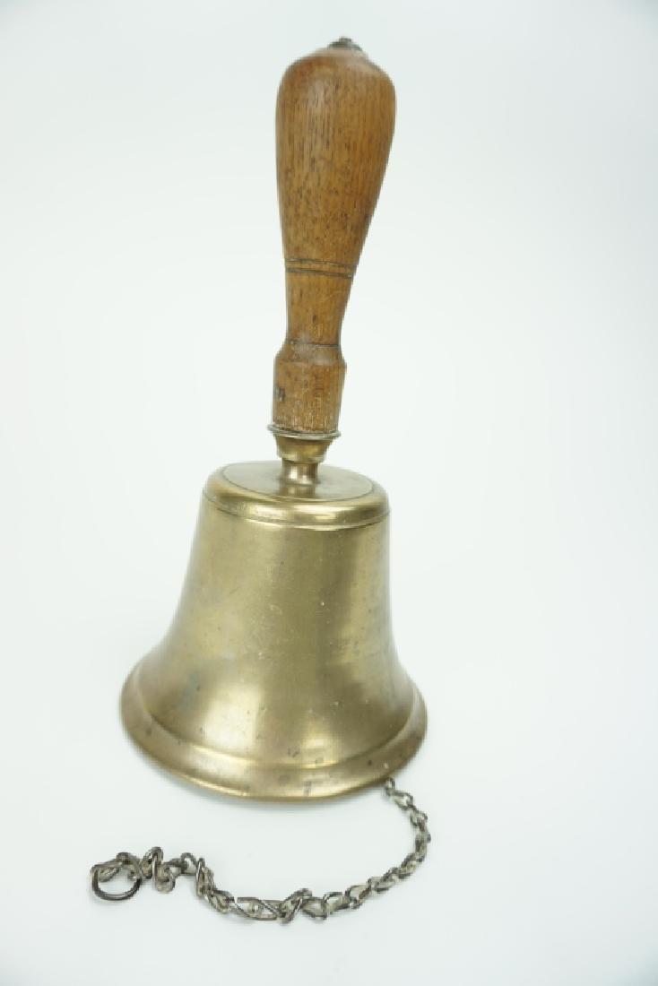 ANTIQUE 1800'S SCHOOL BELL - 3