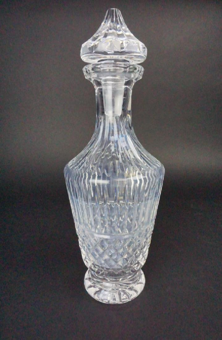 VINTAGE WATERFORD CRYSTAL DECANTER WITH STOPPER