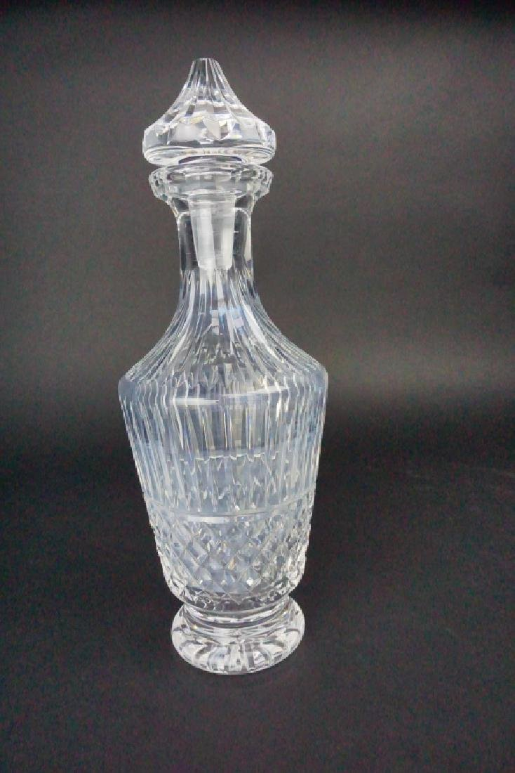 VINTAGE WATERFORD CRYSTAL DECANTER WITH STOPPER - 2