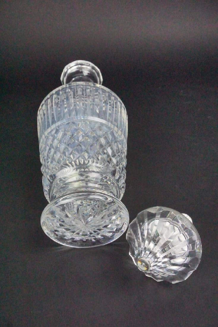 VINTAGE WATERFORD CRYSTAL DECANTER WITH STOPPER - 5