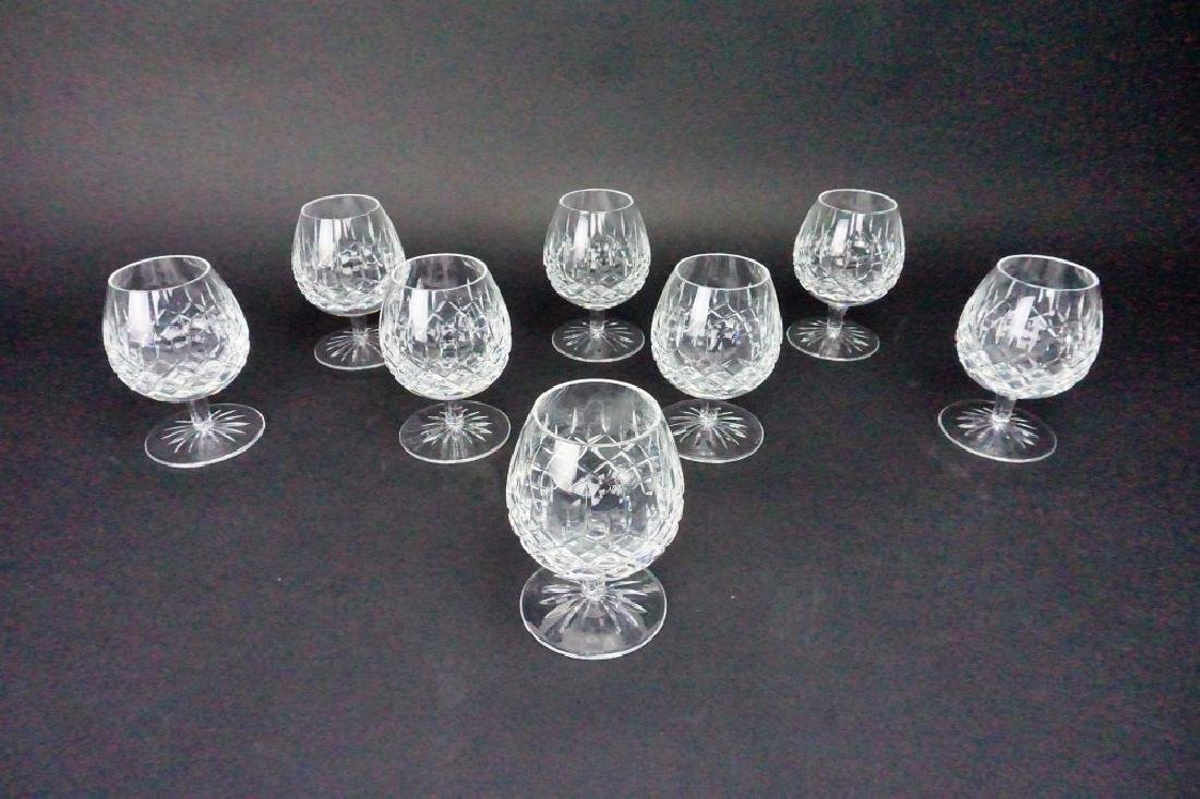 (8) VINTAGE WATERFORD BRANDY SNIFTERS