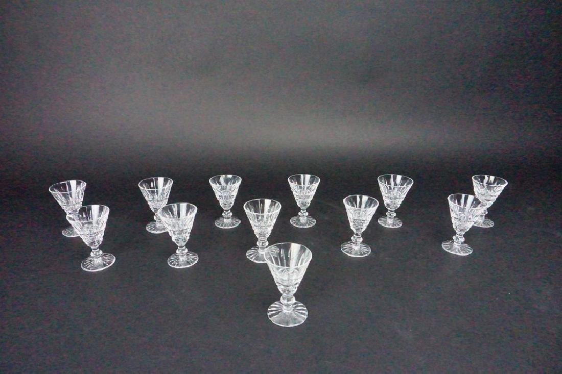 (12) WATERFORD CRYSTAL CORDIALS