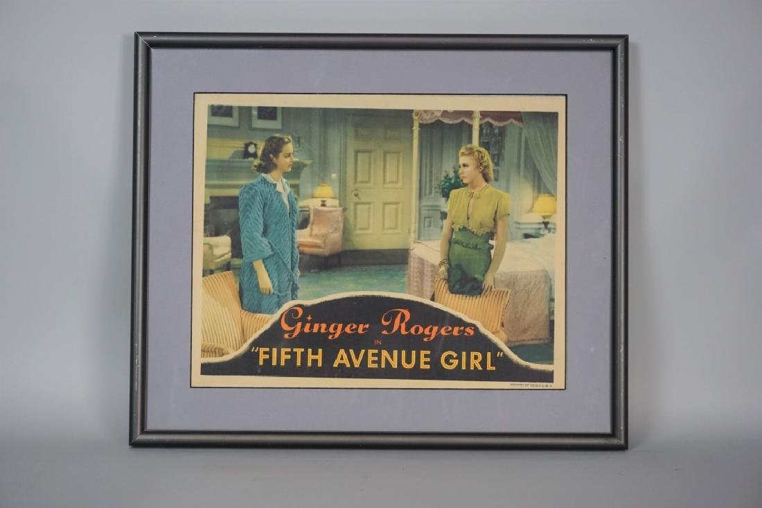 VINTAGE GINGER ROGERS LOBBY CARD