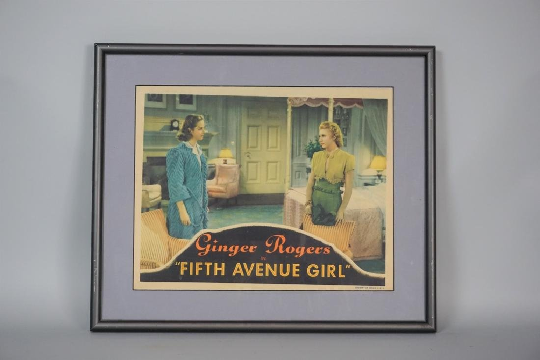VINTAGE GINGER ROGERS LOBBY CARD - 2