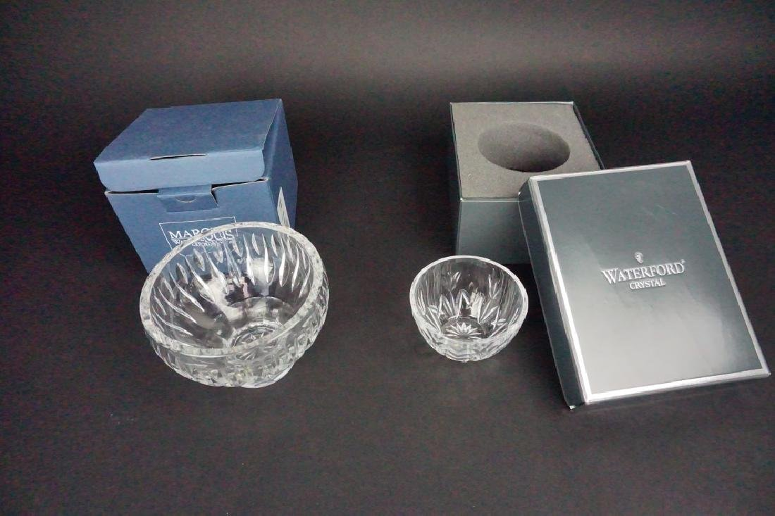 2pcs WATERFORD CRYSTAL BOWLS
