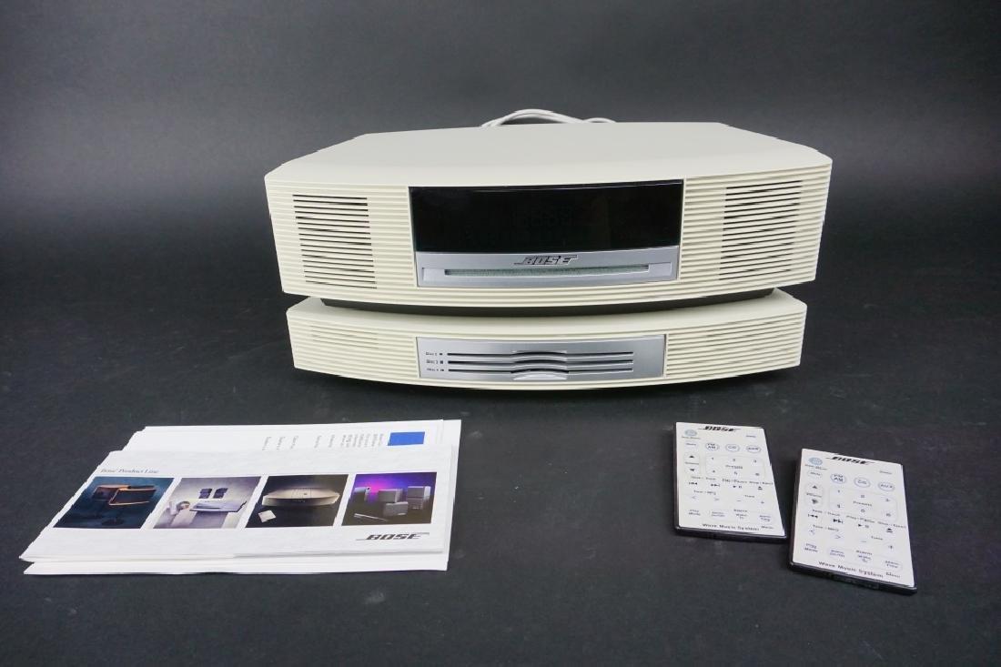 2pc VINTAGE BOSE SOUNDWAVE RADIO SYSTEM