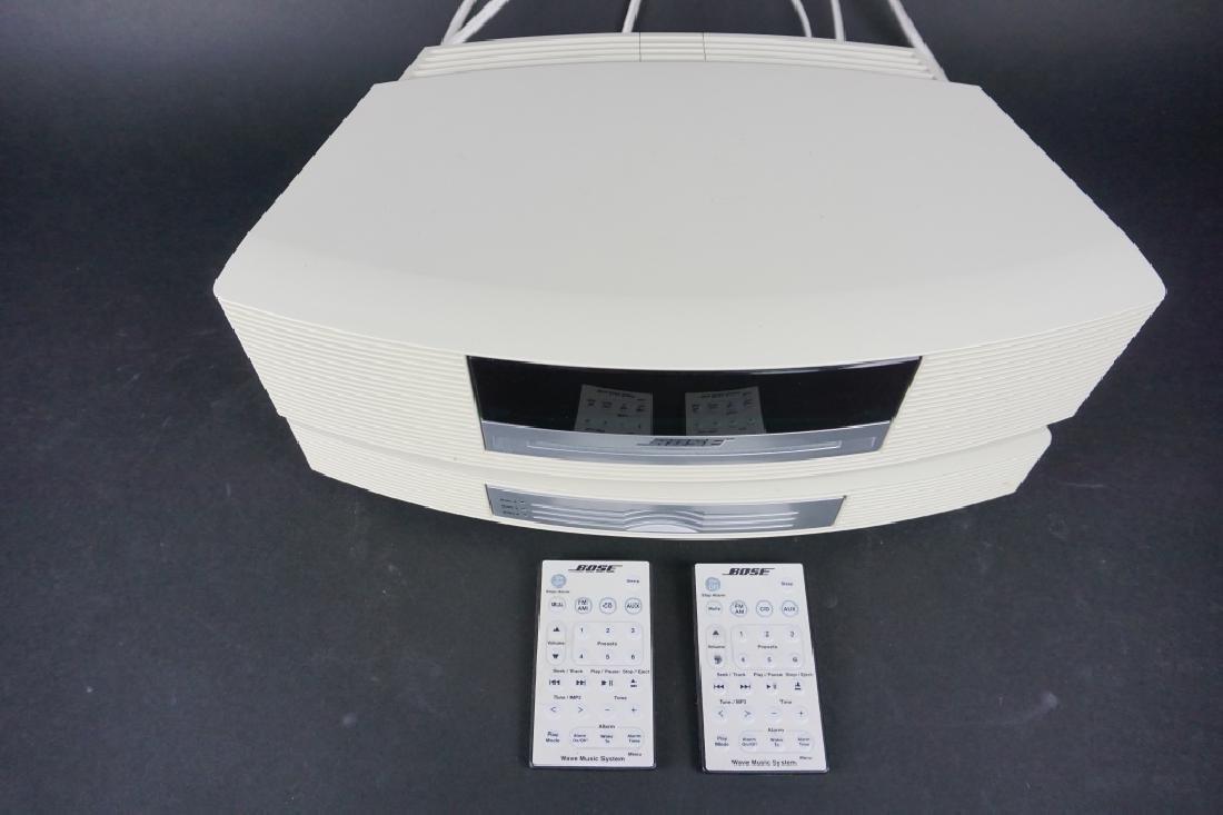 2pc VINTAGE BOSE SOUNDWAVE RADIO SYSTEM - 2