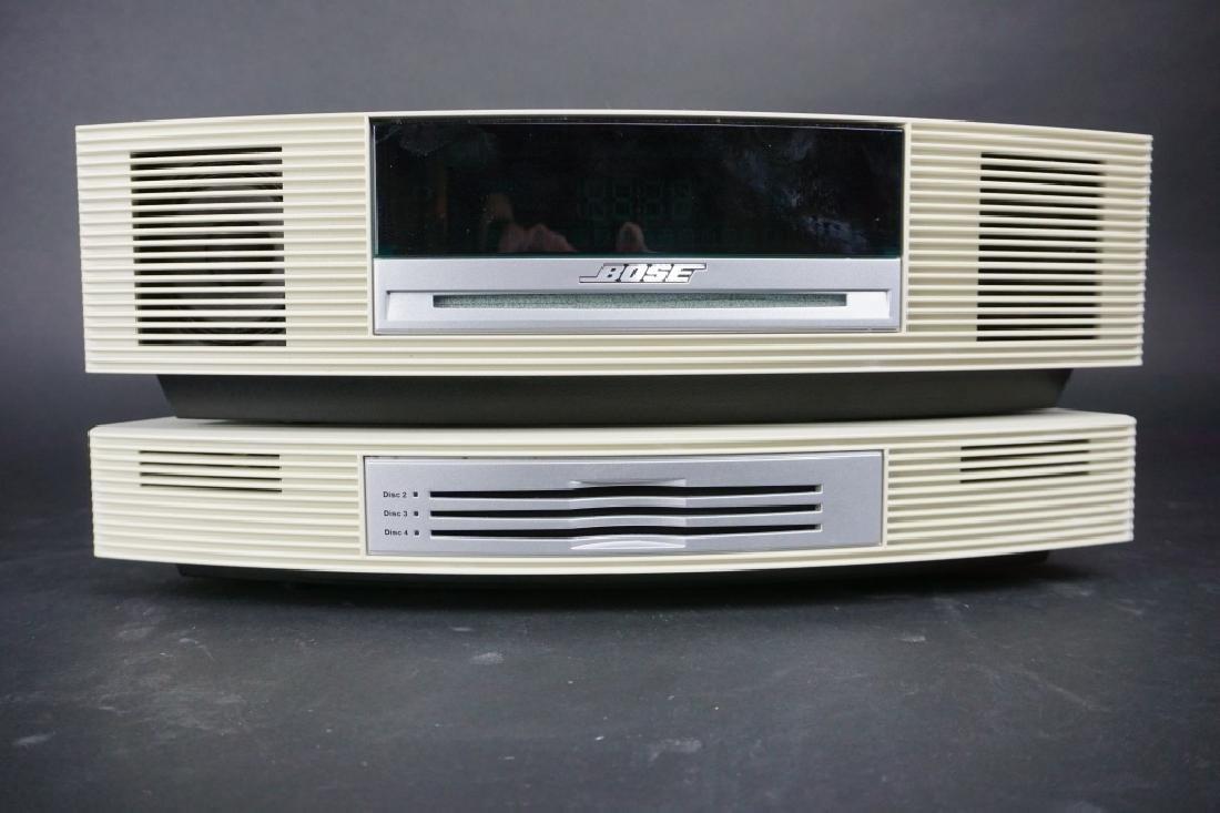 2pc VINTAGE BOSE SOUNDWAVE RADIO SYSTEM - 3