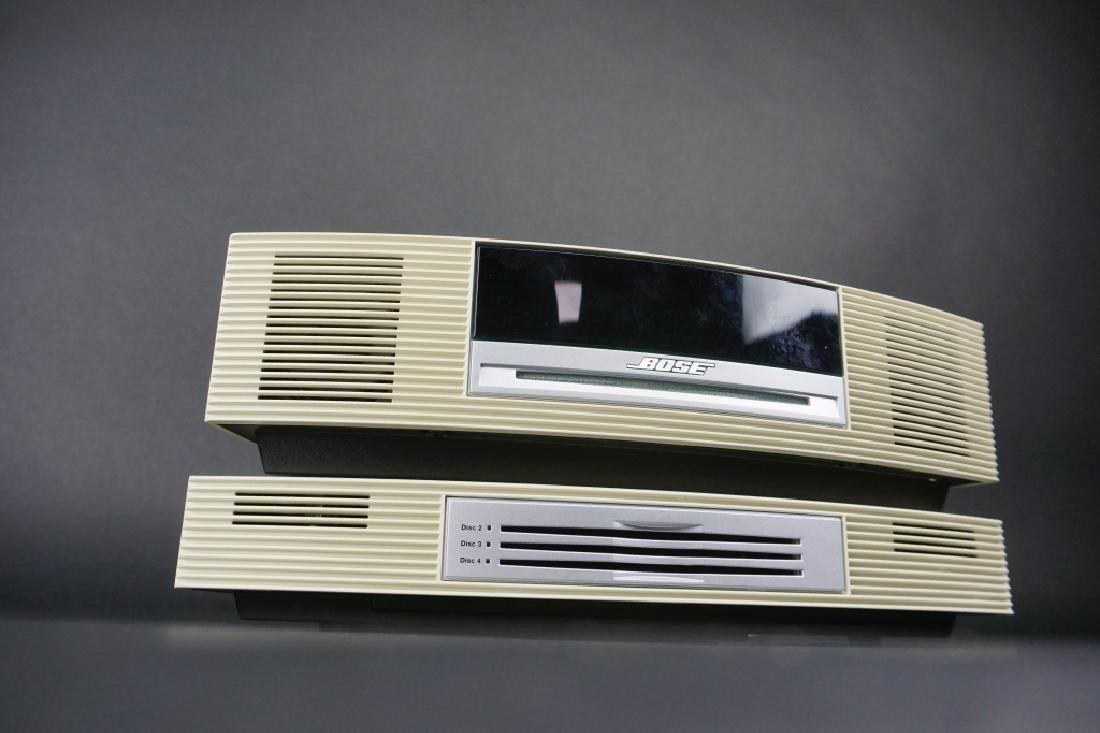2pc VINTAGE BOSE SOUNDWAVE RADIO SYSTEM - 4