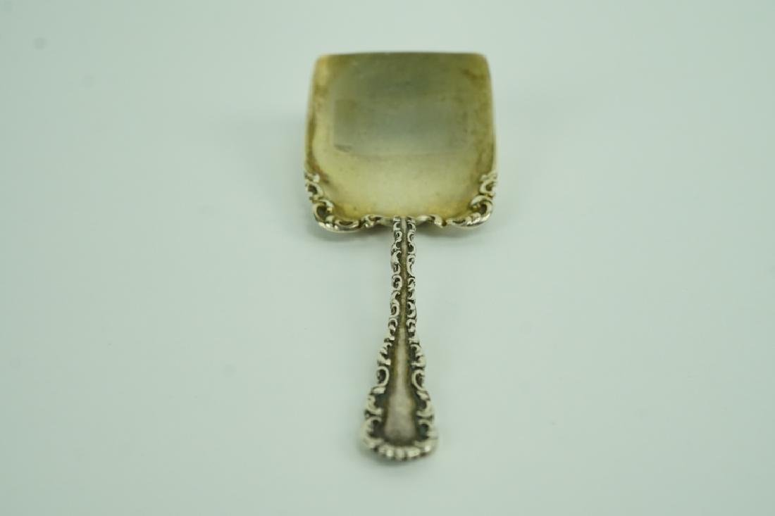 WHITING STERLING SILVER TEA CADDY SPOON - 3
