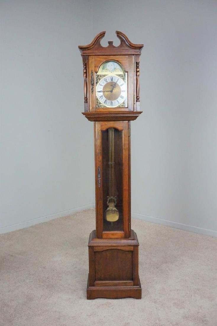 VINTAGE EMPEROR STYLE GRANDFATHER CLOCK