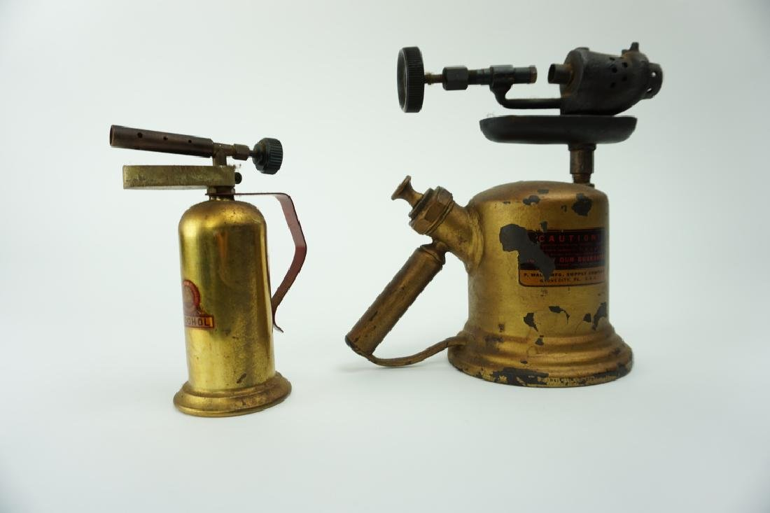 (2) ASSORTED VINTAGE BLOW TORCHES