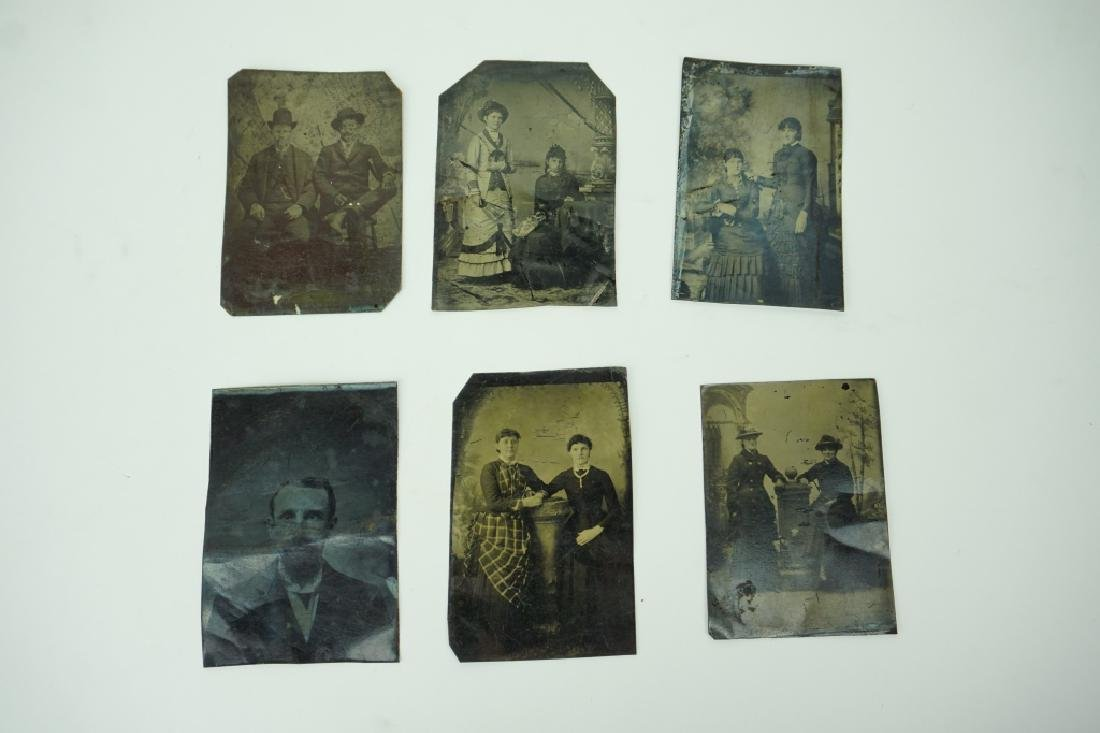 (6) ASSORTED ANTIQUE TINTYPES
