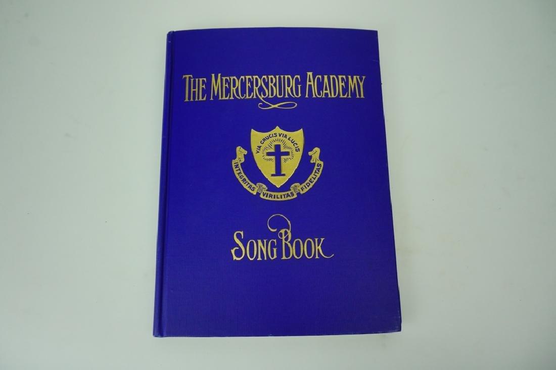 ANTIQUE MERCERSBURG ACADEMY SONG BOOK