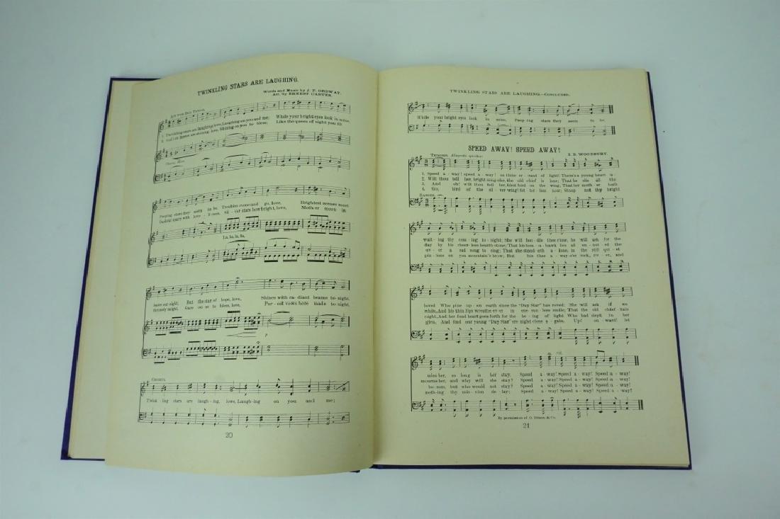 ANTIQUE MERCERSBURG ACADEMY SONG BOOK - 2