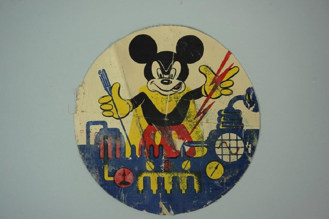 ORIGINAL WWII MICKEY OPERATOR PATCH