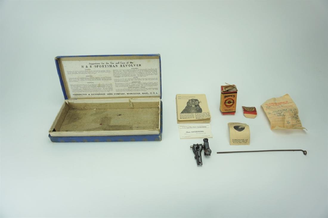 VINTAGE BOX FOR H&R SPORTSMAN PISTOL