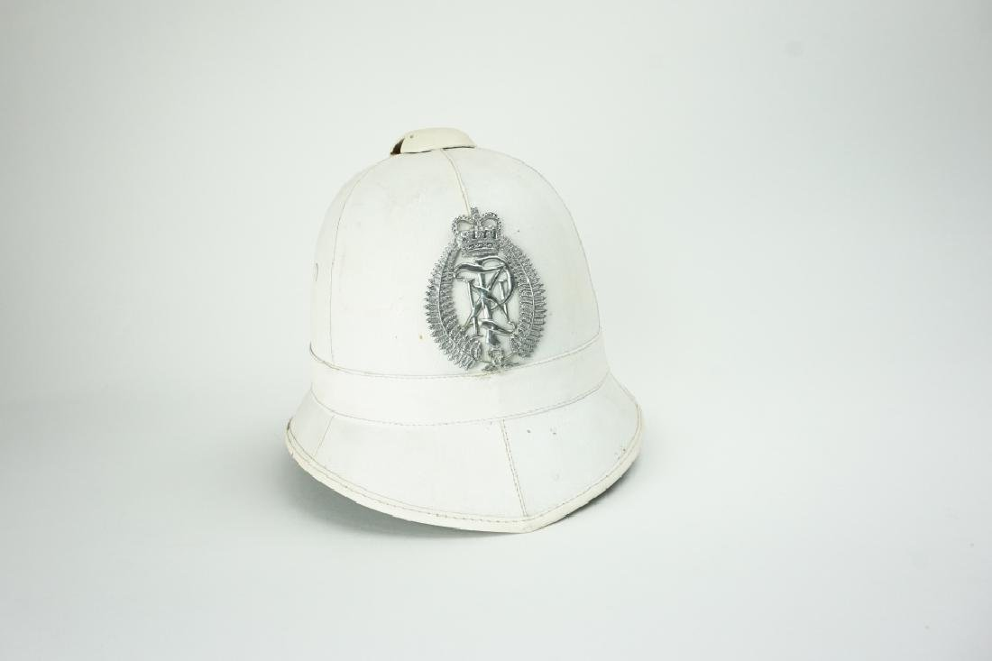 1970'S NEW ZEALAND POLICE HELMET