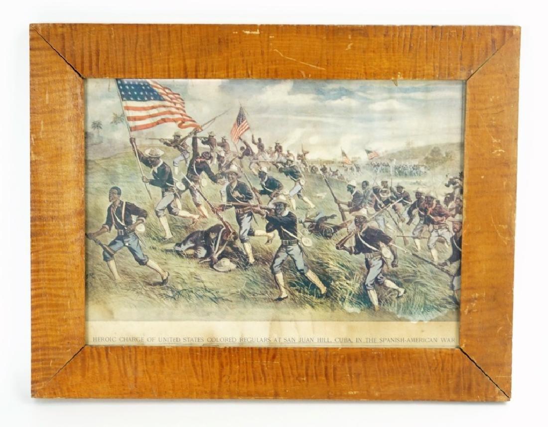 SPANISH AMERICAN WAR PRINT
