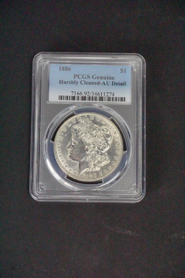1886 SILVER MORGAN DOLLAR - 2