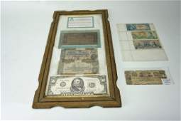 ASSORTED VINTAGE & ANTIQUE CURRENCY
