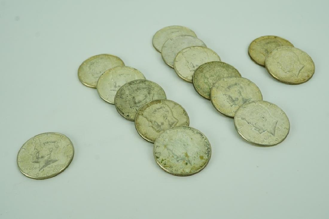 (17) 1965-1970'S KENNEDY HALF DOLLARS
