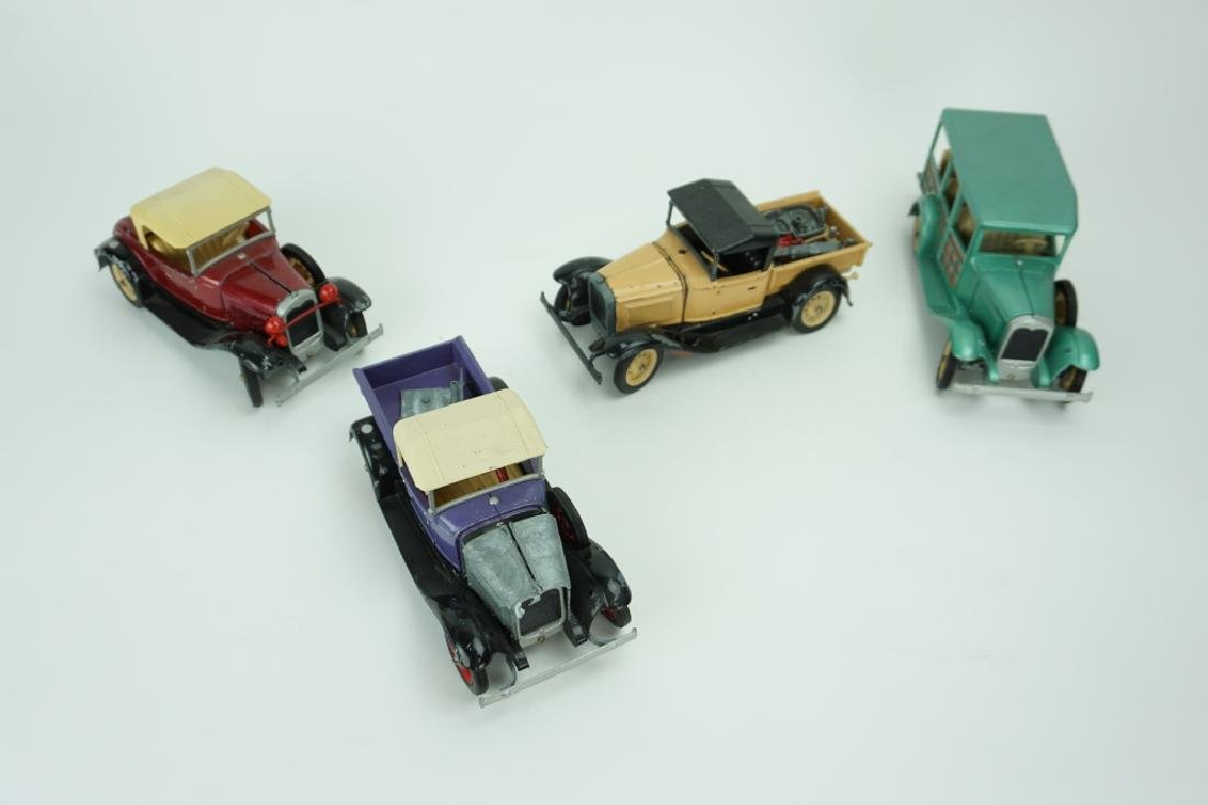(4) ASSORTED VINTAGE HUBLEY TOY CARS - 2