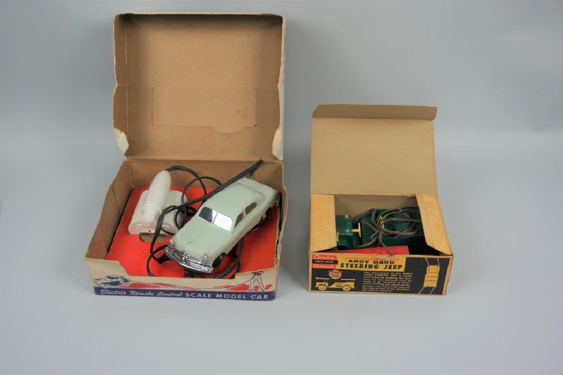 (2) VINTAGE REMOTE CONTROL CARS IN ORIGINAL BOXES