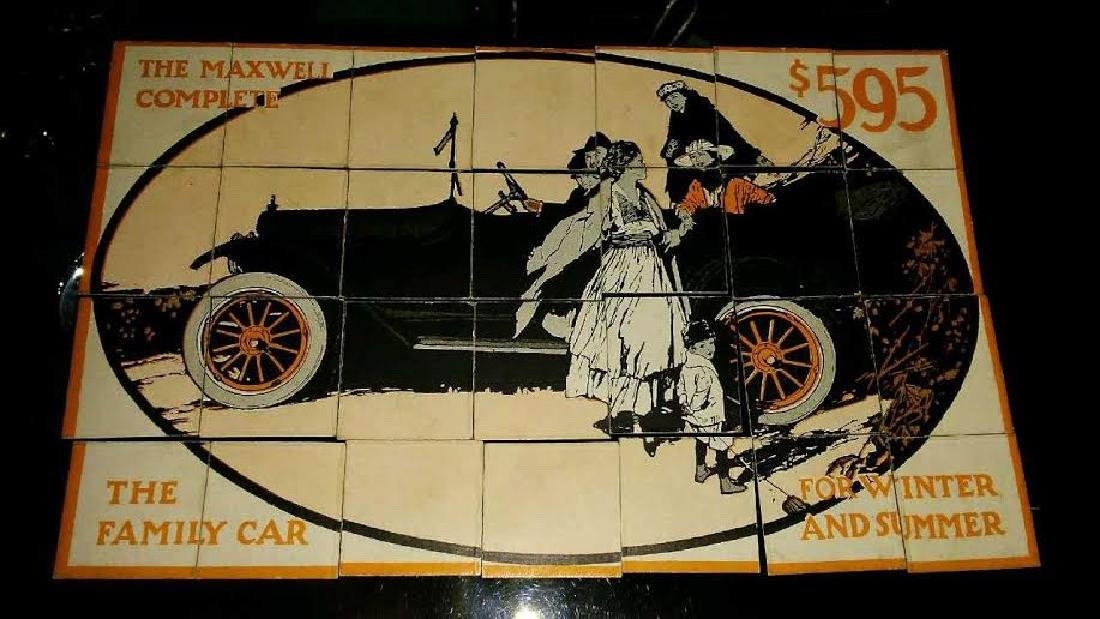 ANTIQUE PROMOTIONAL MAXWELL AUTOMOBILE PUZZLE - 4