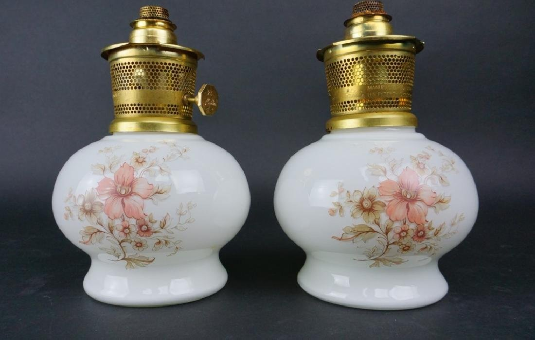 PAIR OF VINTAGE ALADDIN OIL LAMPS