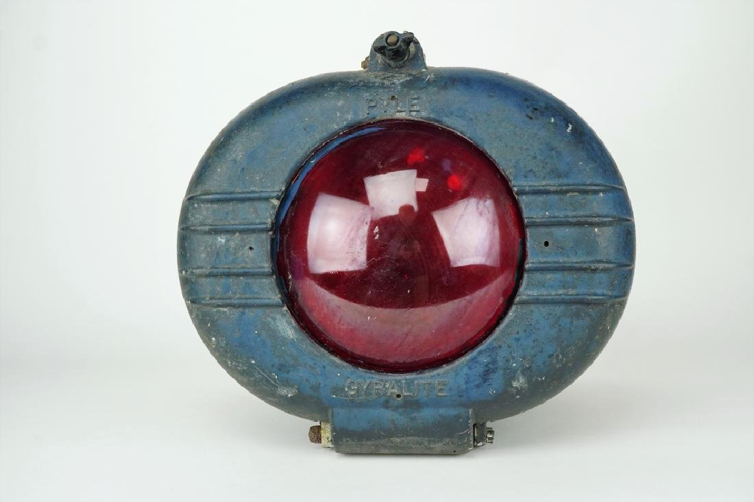 VINTAGE PYLE GYRALITE LOCOMOTIVE HEADLIGHT