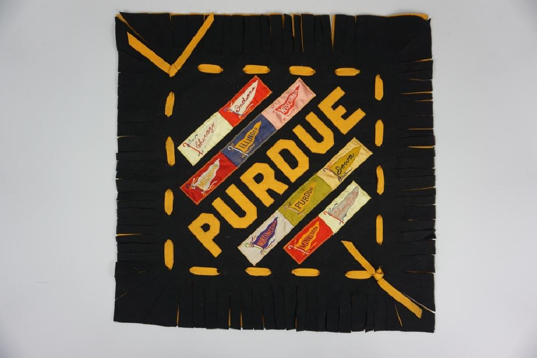 HAND MADE PURDUE PILLOW COVER