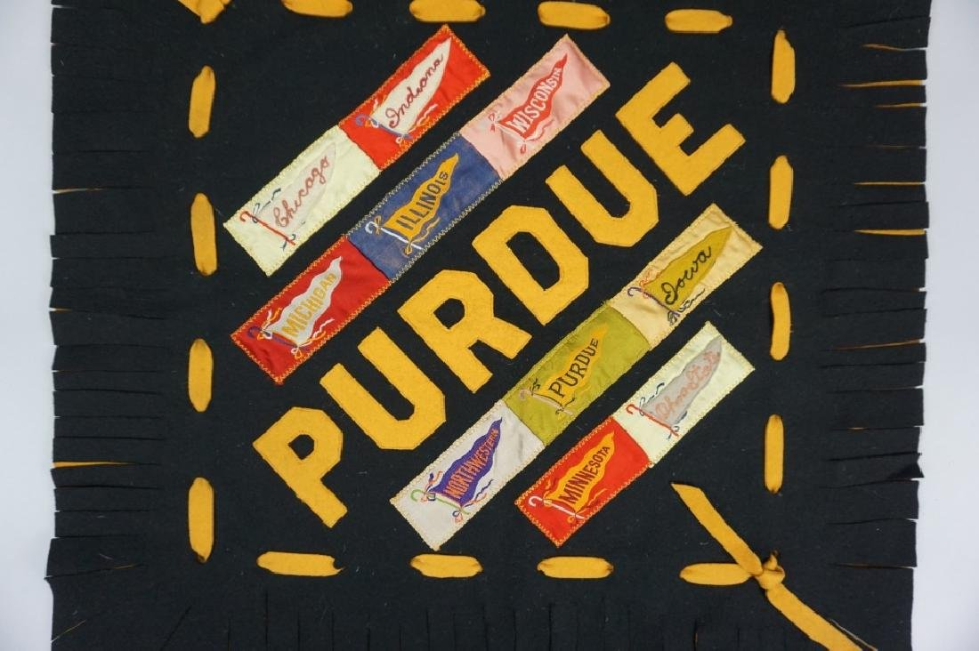 HAND MADE PURDUE PILLOW COVER - 2