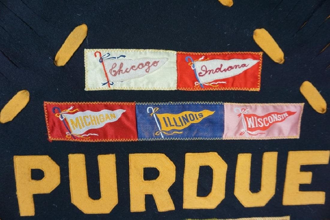 HAND MADE PURDUE PILLOW COVER - 3