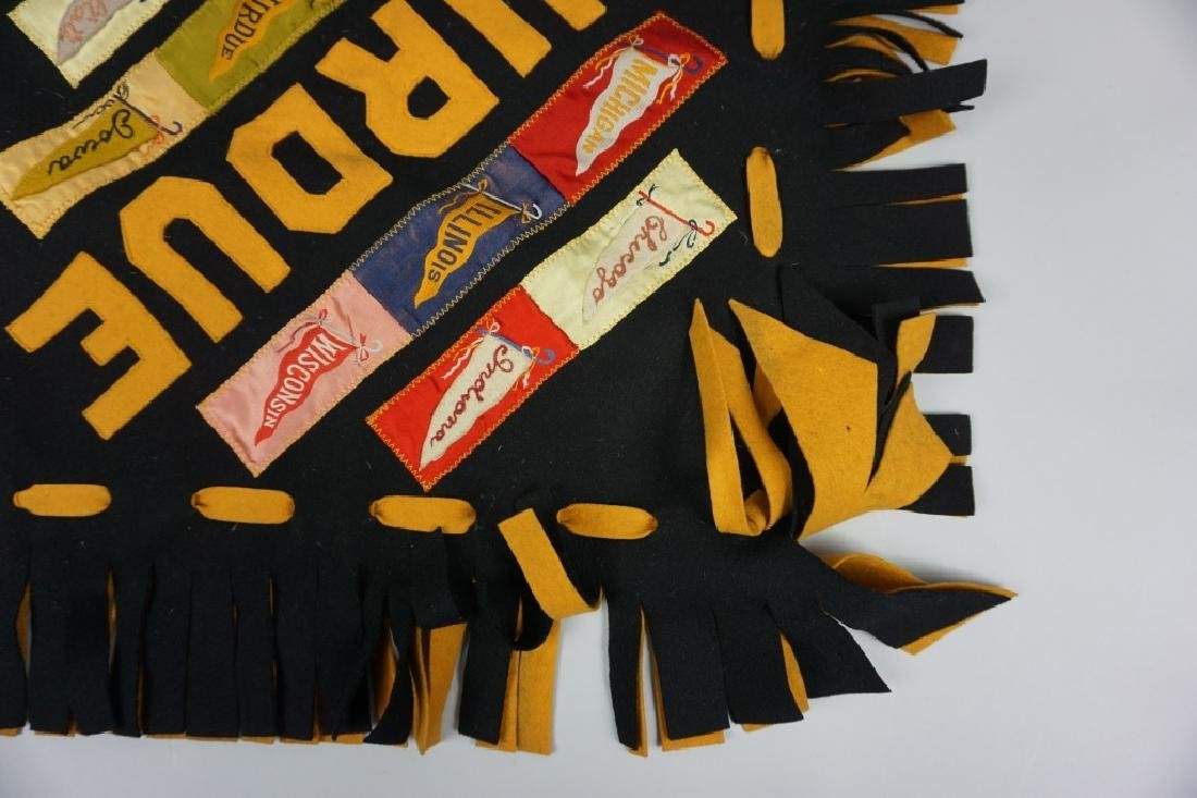 HAND MADE PURDUE PILLOW COVER - 6