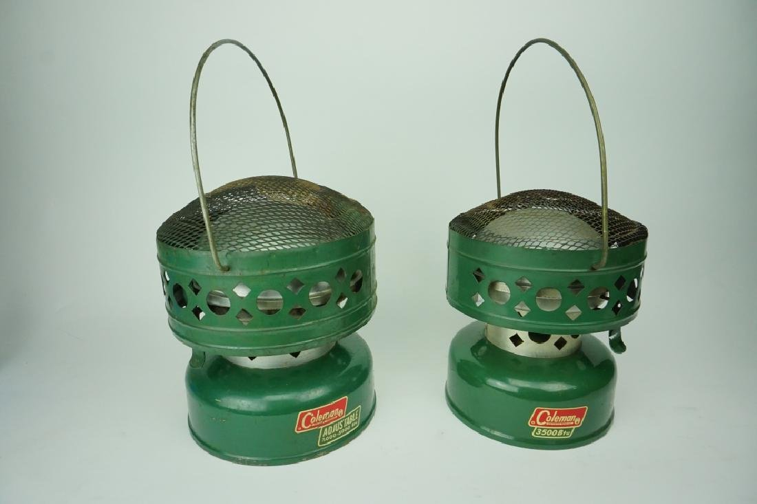 (2) ASSORTED VINTAGE COLEMAN HEATERS - 2