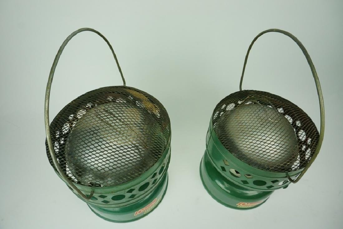 (2) ASSORTED VINTAGE COLEMAN HEATERS - 3