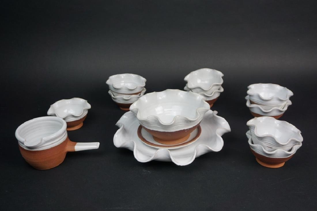 13pcs ASSORTED VINTAGE STEPHEN PEARCE POTTERY