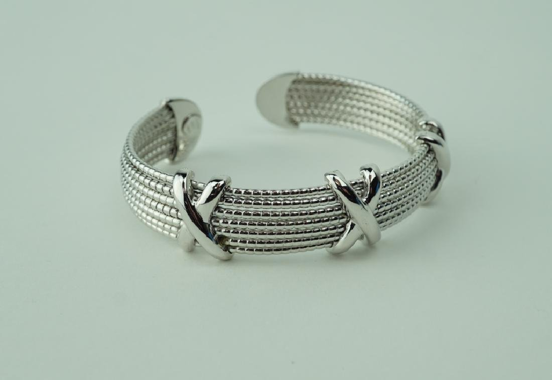ROBERTO COIN STERLING 7-STRAND CUFF BRACELET