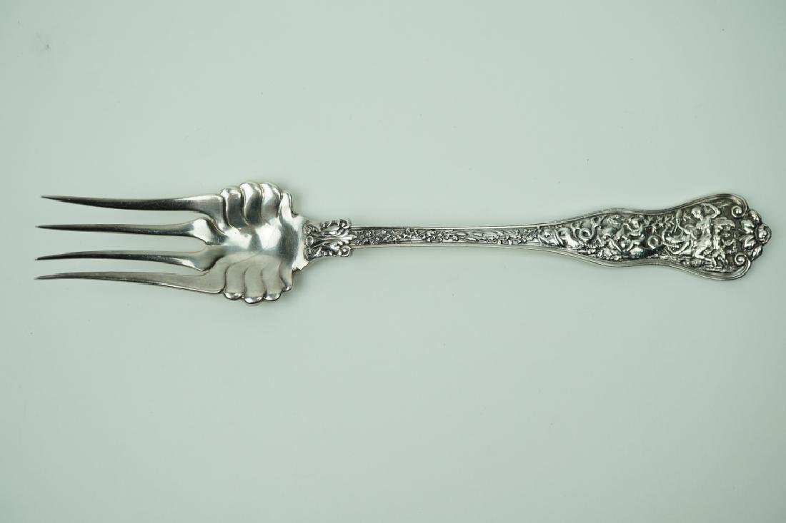 "1878 TIFFANY & CO ""OLYMPIAN"" COLD MEAT FORK"