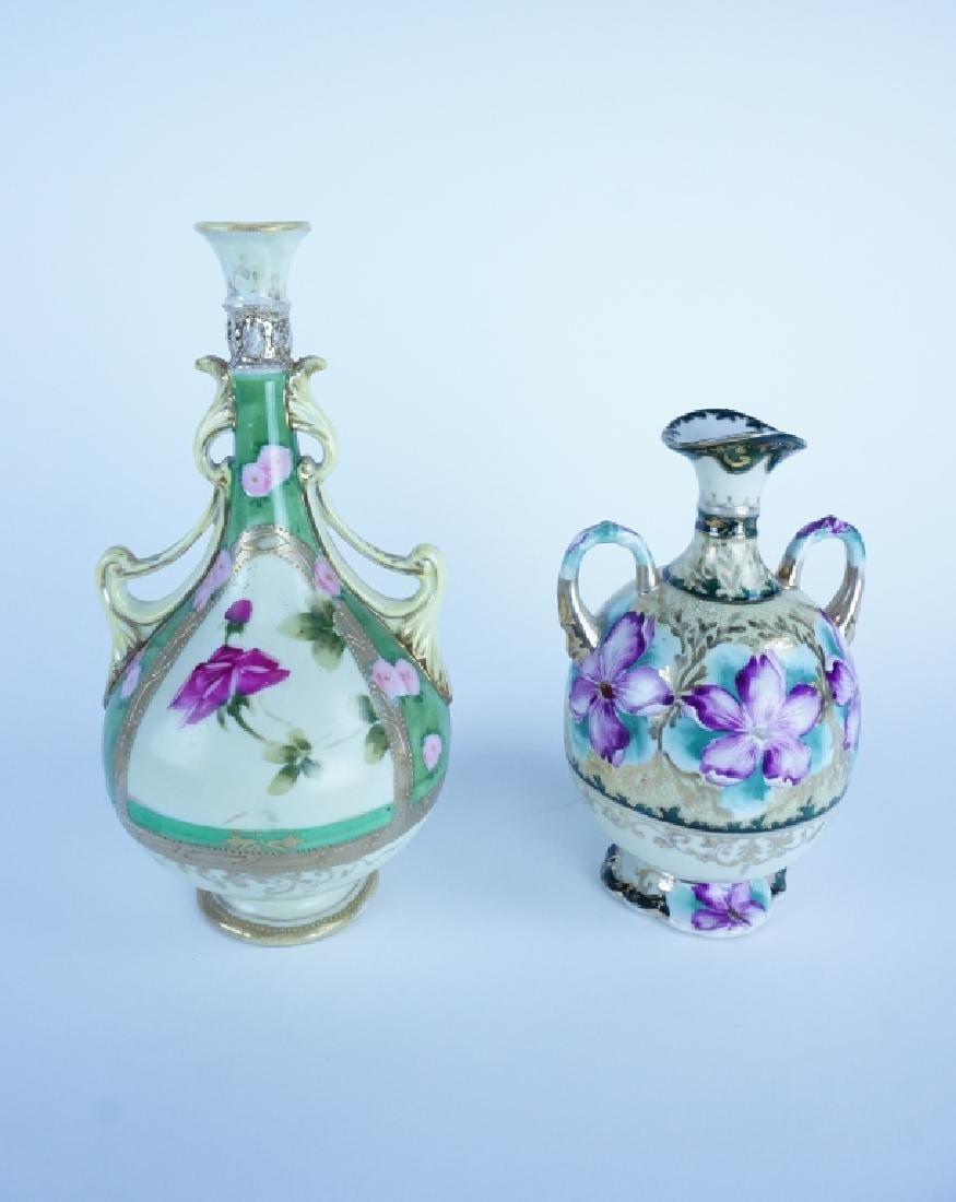 2 VINTAGE ART DECO VASES – 2 vintage art deco vase