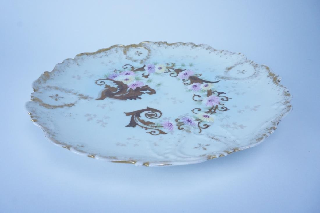 ANTIQUE LIMOGES SERVING PLATE