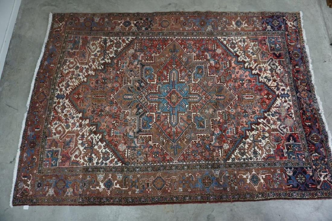 PERSIAN HERIZ ORIENTAL AREA RUG