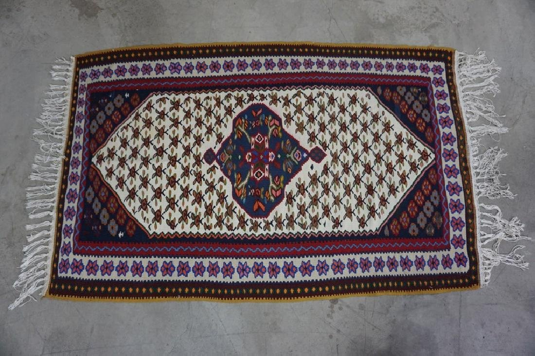 FLAT WEAVE KILIM THROW RUG