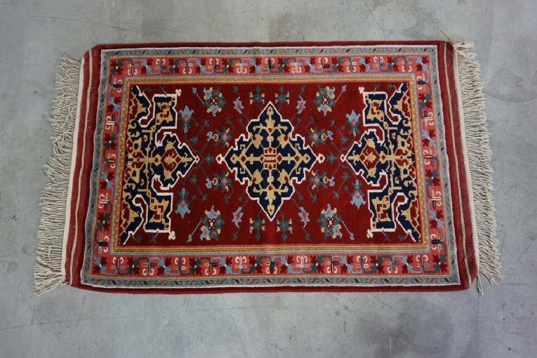 VINTAGE TURKISH THROW RUG